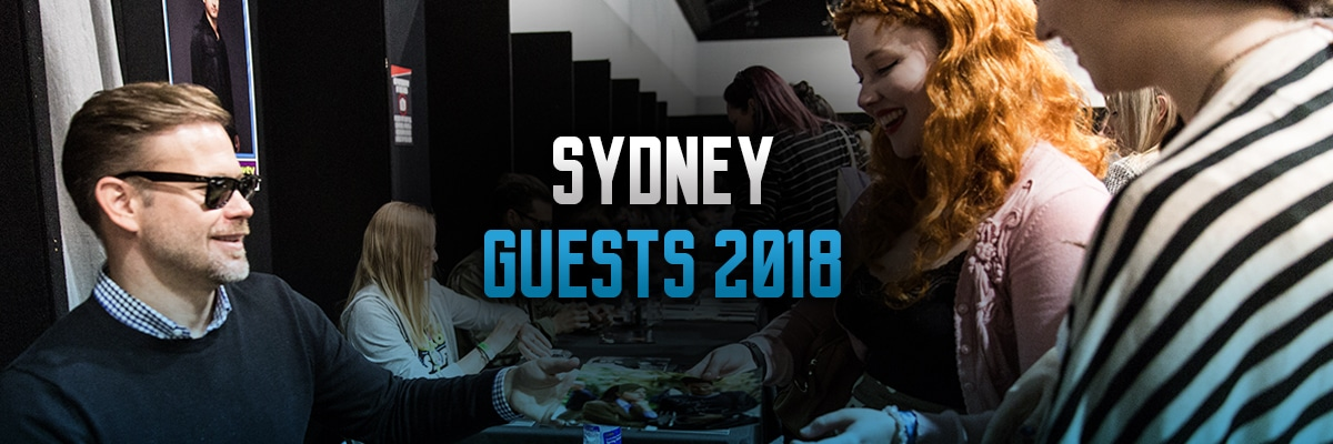 Sydney Guests Banner for Oz Comic-Con